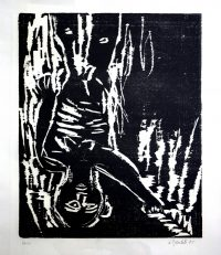 1985, woodcut on paper, edition of 10, 49,2 x 65 cm