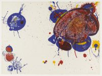 1963, lithograph on paper, signed, edition 20/20, 75,6 x 55 cm