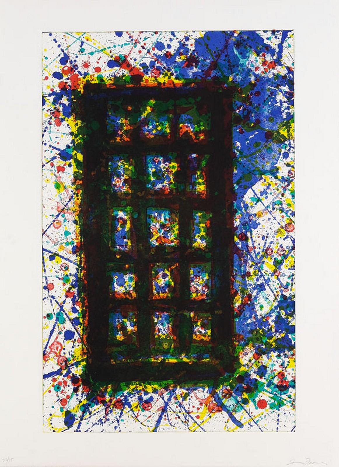 1977, lithograph, 56 x 75 cm