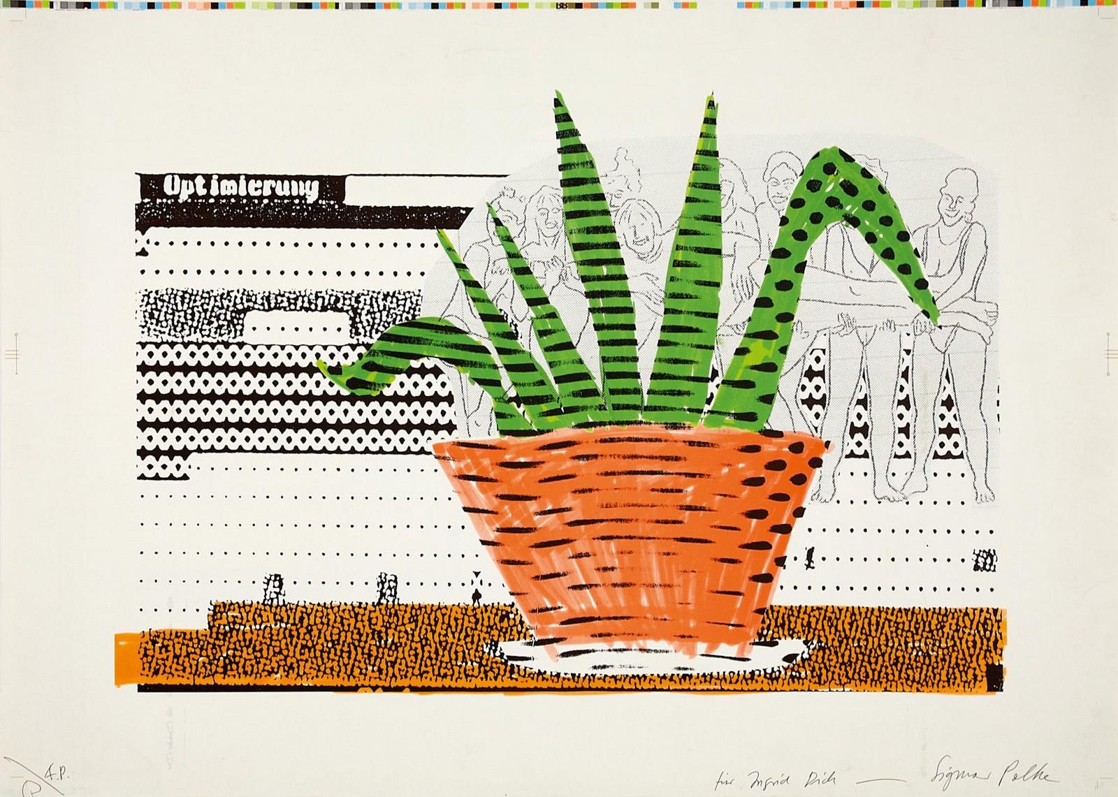 1996, silkscreen on paper, 81/100, 83,7 x 59,2 cm