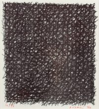 1960, lithograph, signed and dated, 10/58, 21 x 22,5 cm