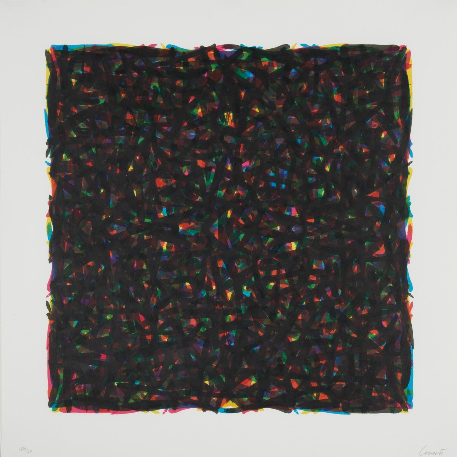 Watanabe, 1994, edition, 289/500, 40,5 x 40,5 cm