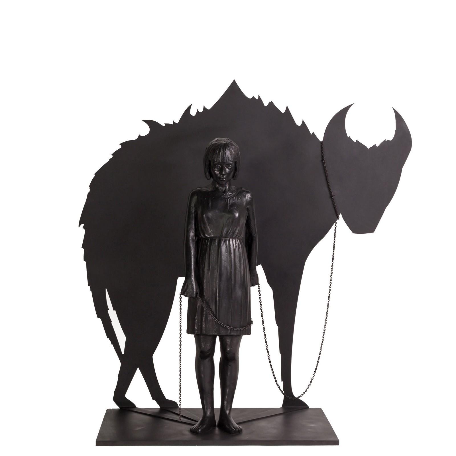 2015, bronze, 5/7, 57 x 58 x 25 cm