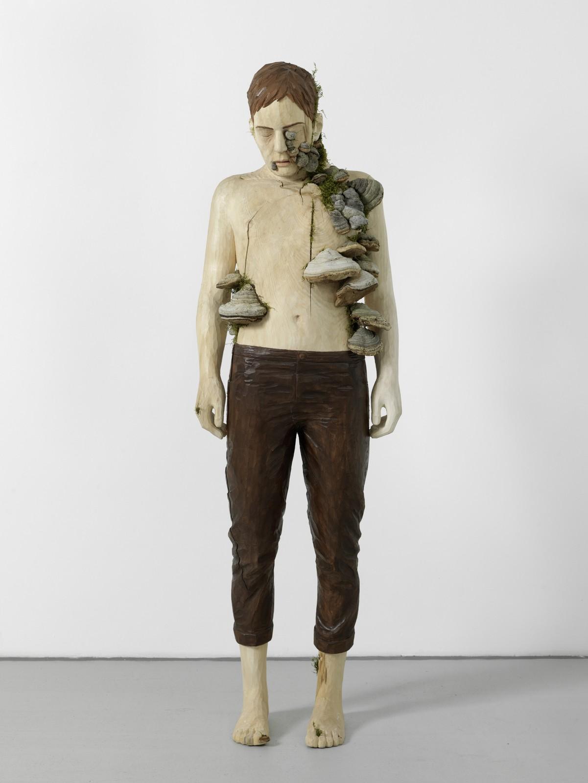 2016, wood, 175 x 54 x 35 cm
