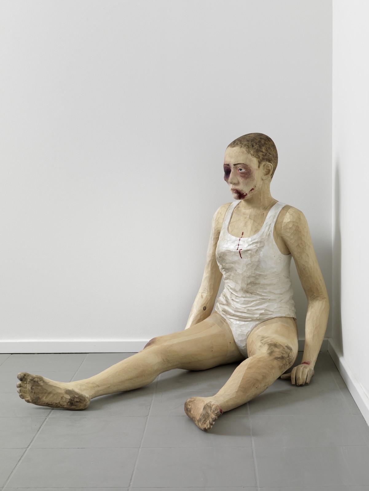 2012, wood, 73 x 87 x 101 cm