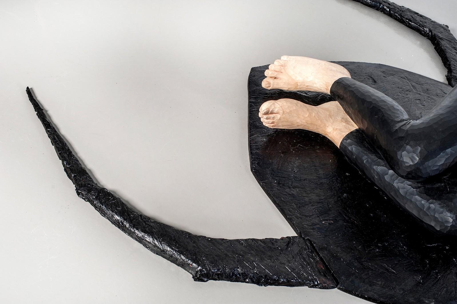 Metanoia series, 2013, wood, 37 x 58 x 128 cm