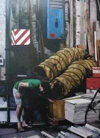 2009, oil on canvas, 180 x 250 cm