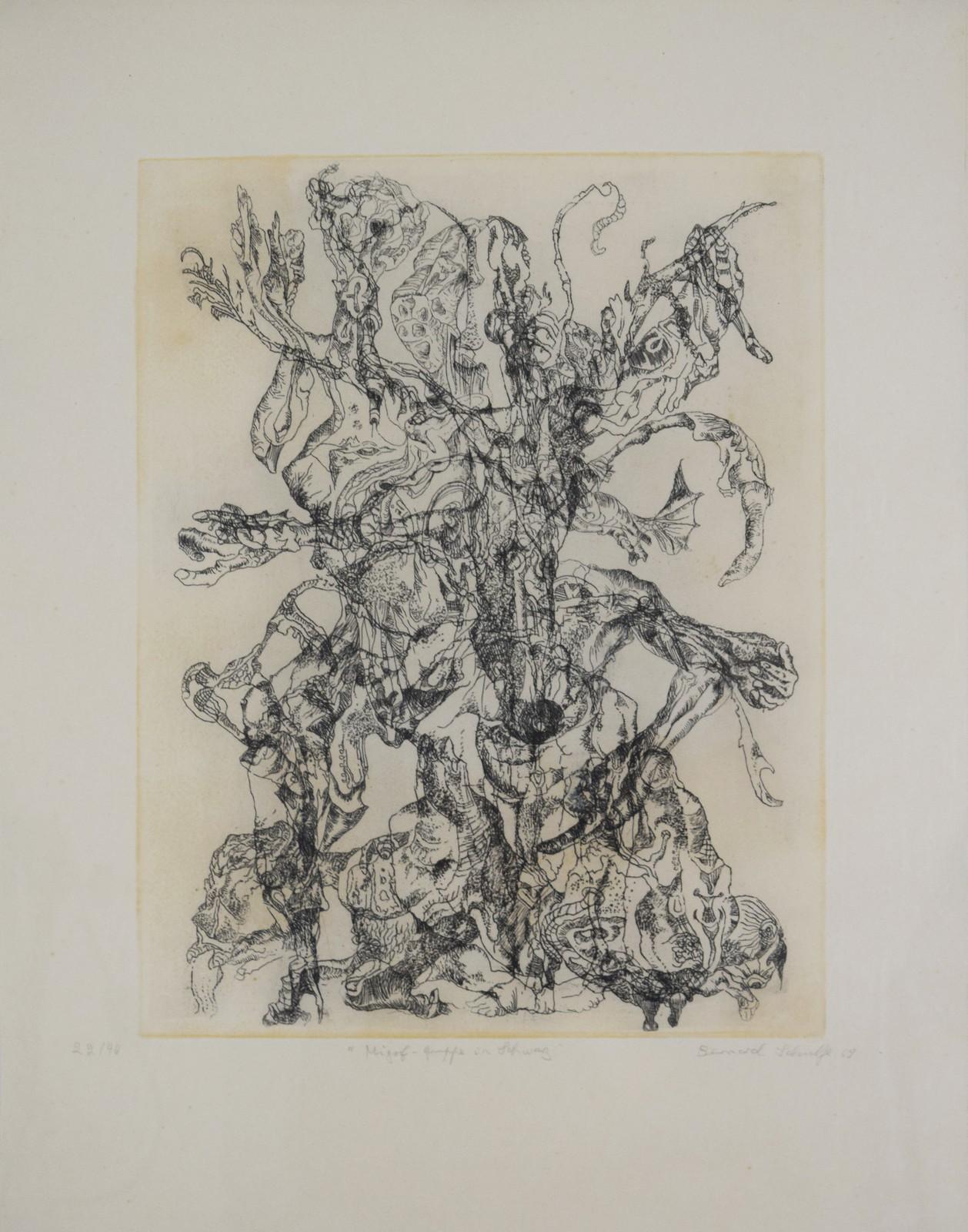 1969, lithograph, 22/40, 29 x 38,5 cm