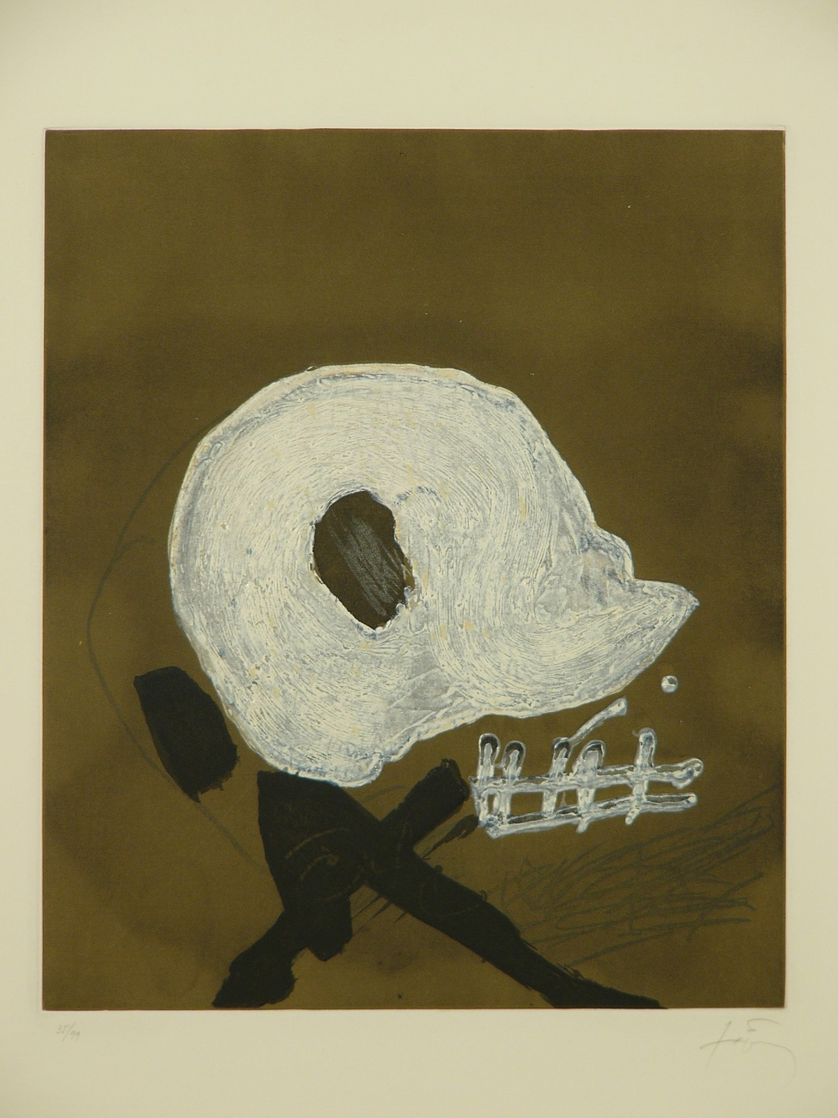 1982, etching, 35/99, 42 x 49 cm