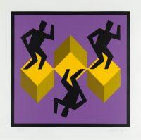 1988, silkscreen, 59/100, 38 x 40 cm