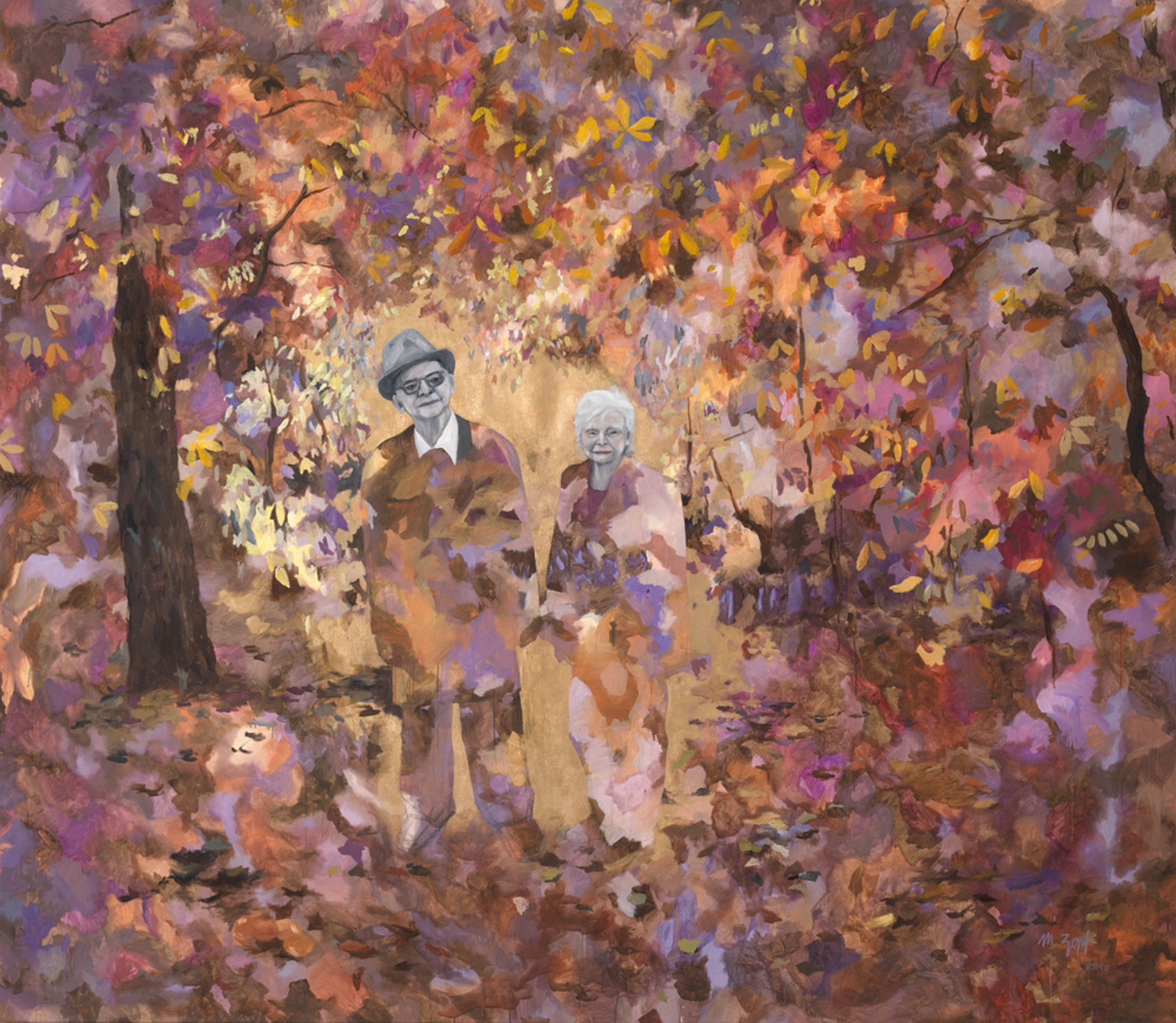 2010, oil on canvas, 270 x 310 cm