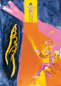 1998, lithograph, 114 x 143 cm