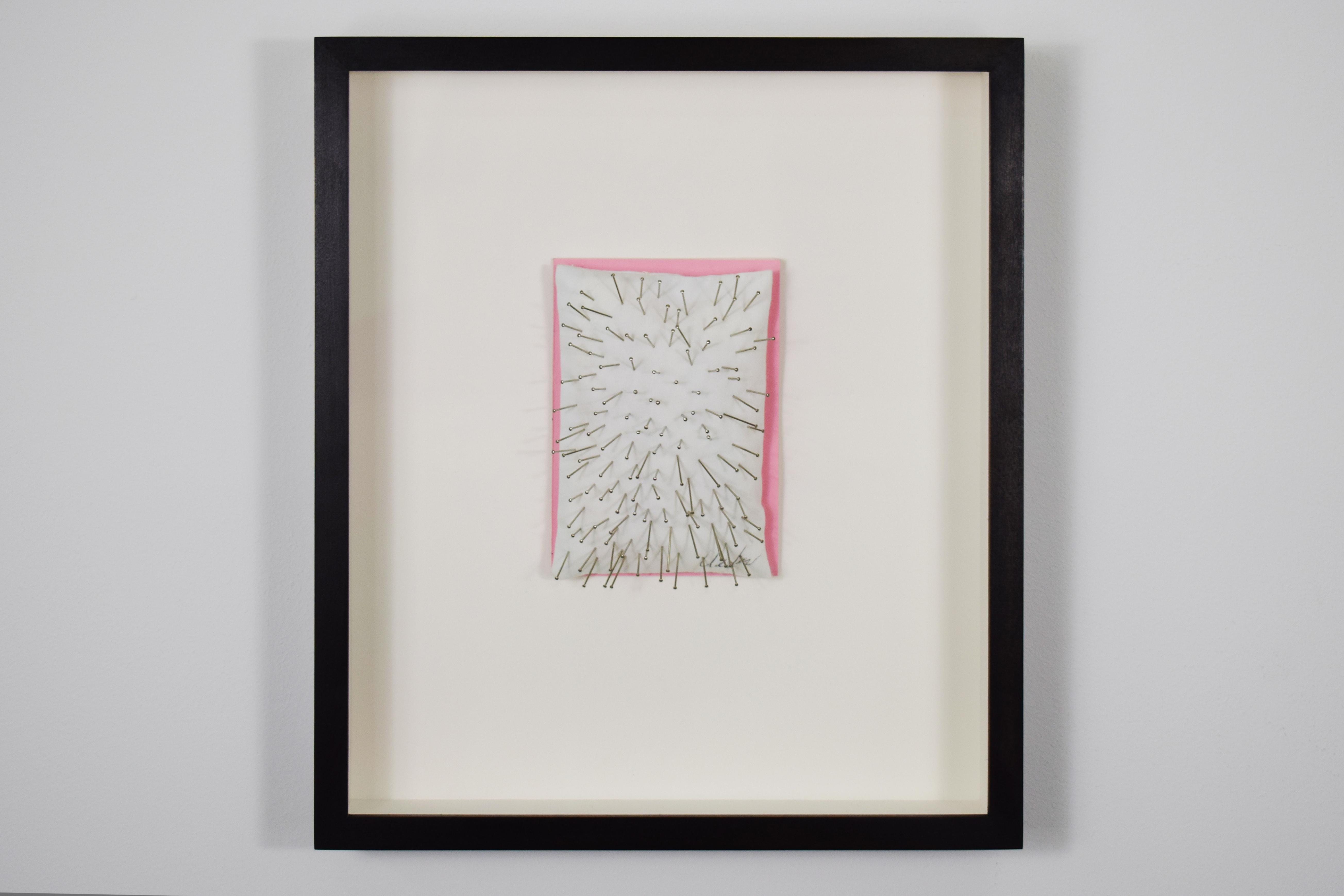 1969, pins book Pillow, 4 x 10,3 x 14,5 cm