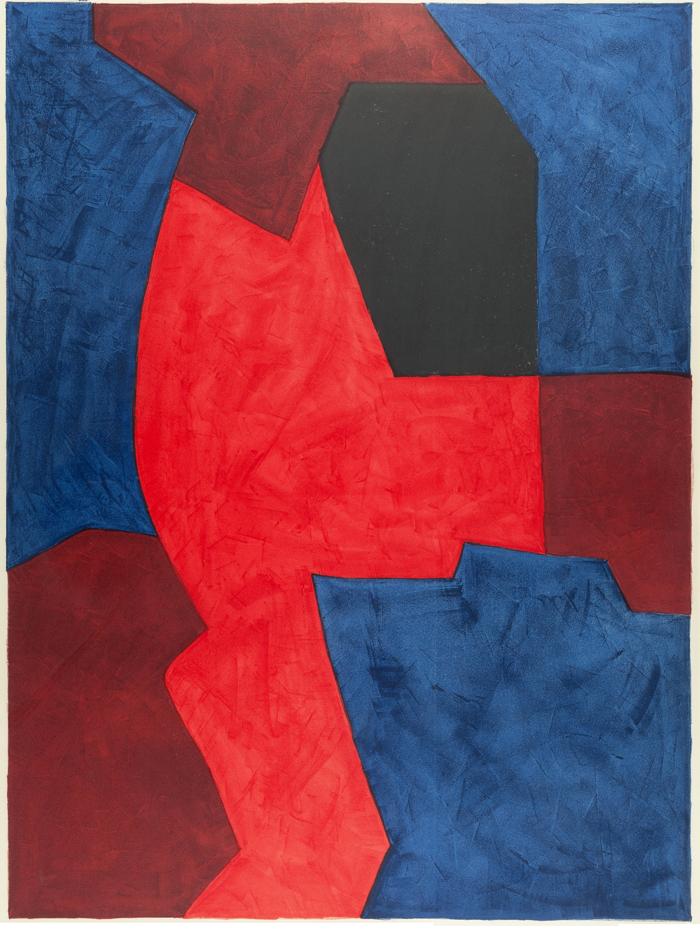 1969, lithograph on paper, edition, 63,5 x 84,7 cm