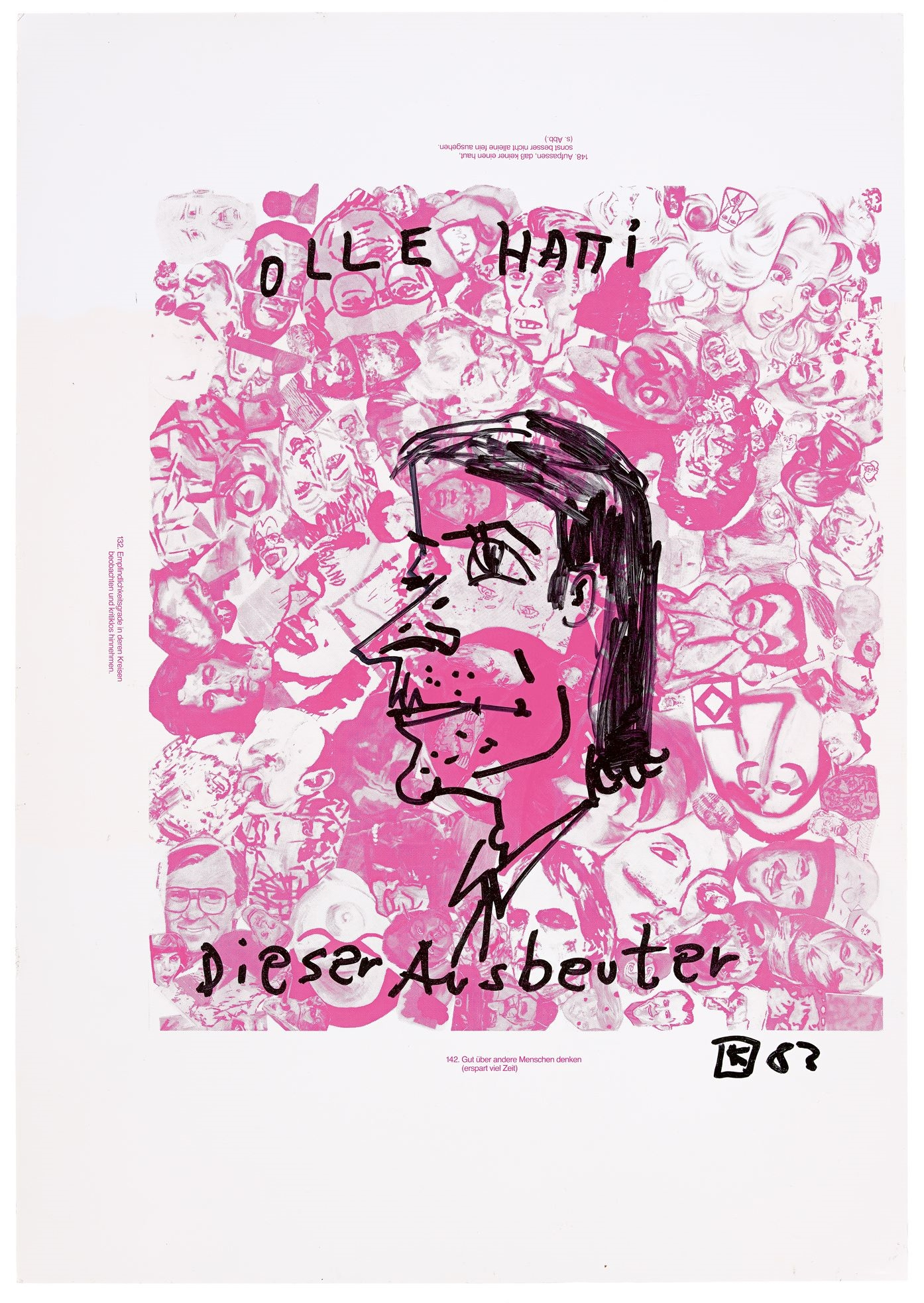 1983, silkscreen on paper, 69,5 x 99 cm