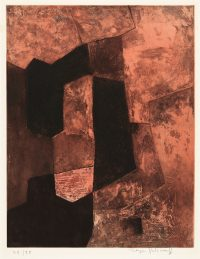 1964, etching, 18/75 , 56,2 x 75,5 cm